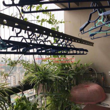 Sửa chữa giàn phơi nhà chị Nguyên, chung cư Capital Garden, 102 Trường Trinh, Đống Đa, Hà Nội
