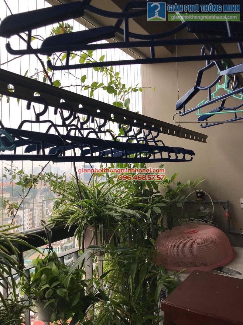 Sửa giàn phơi nhà chị Nguyên, chung cư Capital Garden, 102 Trường Trinh, Đống Đa, Hà Nội - 04