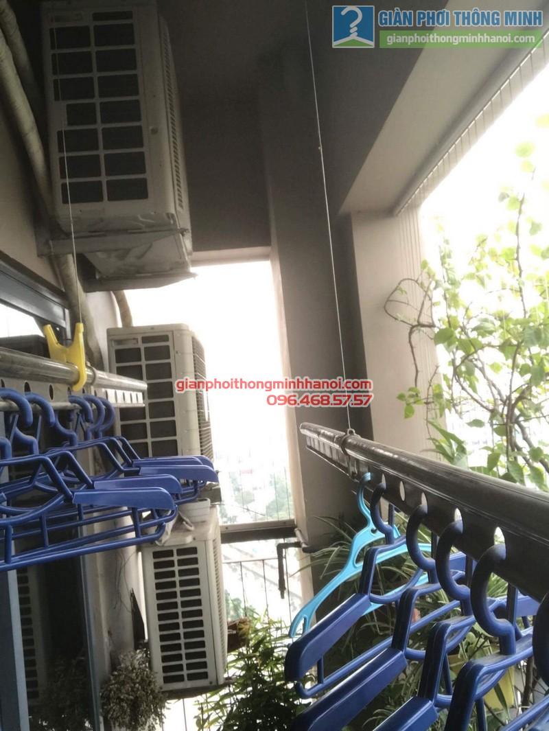 Sửa giàn phơi nhà chị Nguyên, chung cư Capital Garden, 102 Trường Trinh, Đống Đa, Hà Nội - 05