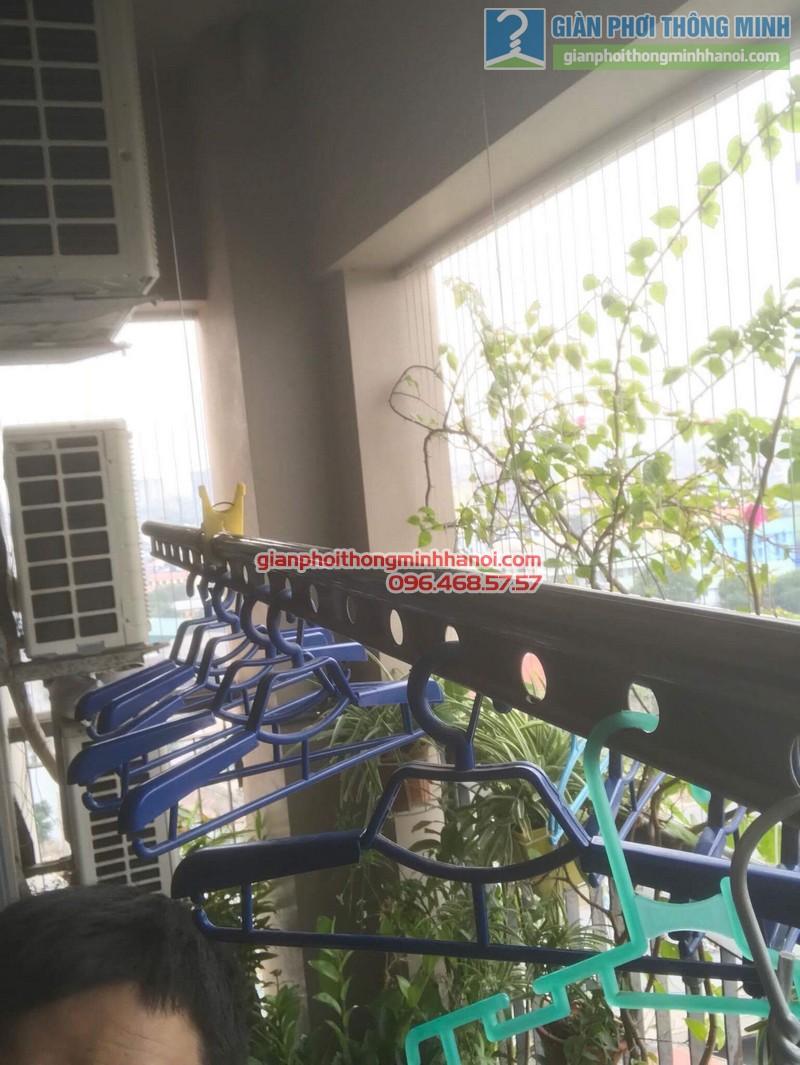 Sửa giàn phơi nhà chị Nguyên, chung cư Capital Garden, 102 Trường Trinh, Đống Đa, Hà Nội - 06