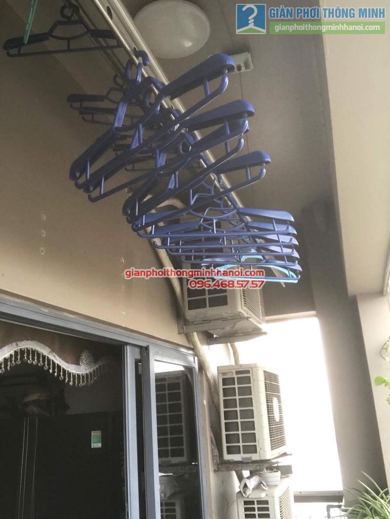 Sửa giàn phơi nhà chị Nguyên, chung cư Capital Garden, 102 Trường Trinh, Đống Đa, Hà Nội - 07