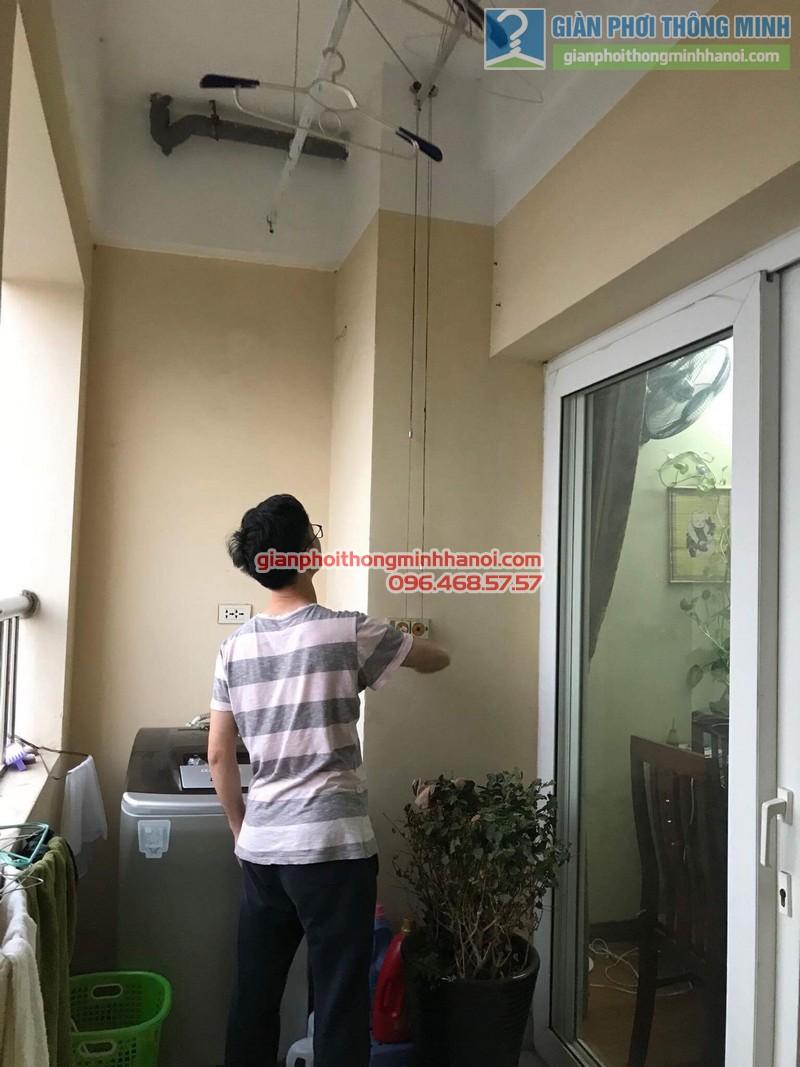 Sửa chữa giàn phơi thông minh nhà anh Hải, Từ Liêm, Hà Nội - 04