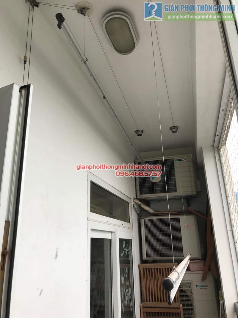 Sửa giàn phơi nhà chị Khanh, số 10 Hoa Lư, Hai Bà Trưng, Hà Nội - 05