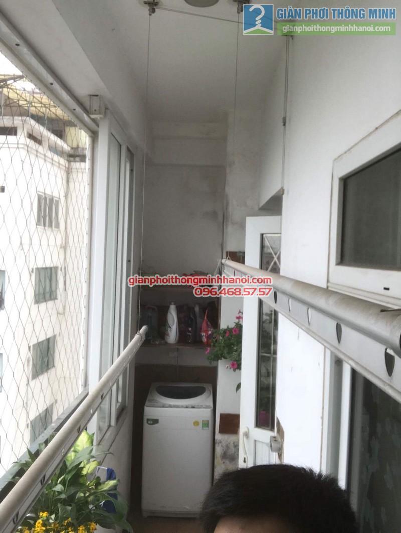Sửa giàn phơi nhà chị Khanh, số 10 Hoa Lư, Hai Bà Trưng, Hà Nội - 08