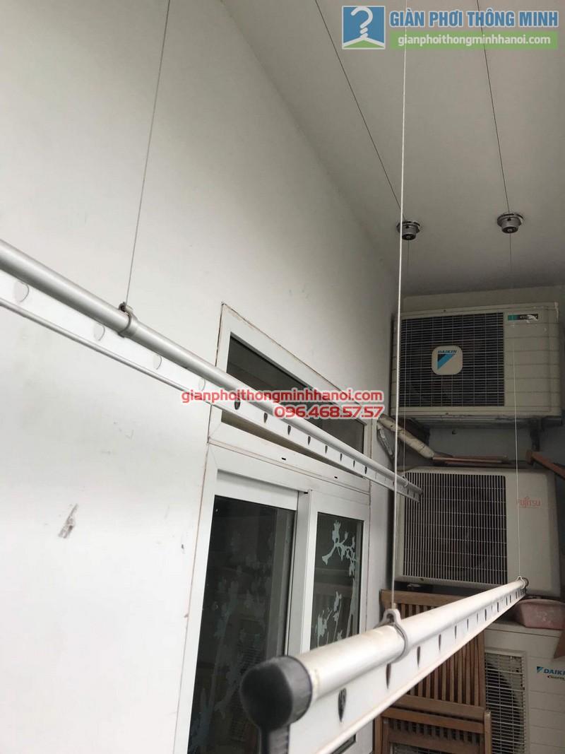 Sửa giàn phơi nhà chị Khanh, số 10 Hoa Lư, Hai Bà Trưng, Hà Nội - 09