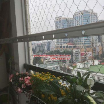 Sửa giàn phơi nhà chị Khanh, chung cư số 10 Hoa Lư, Hai Bà Trưng, Hà Nội