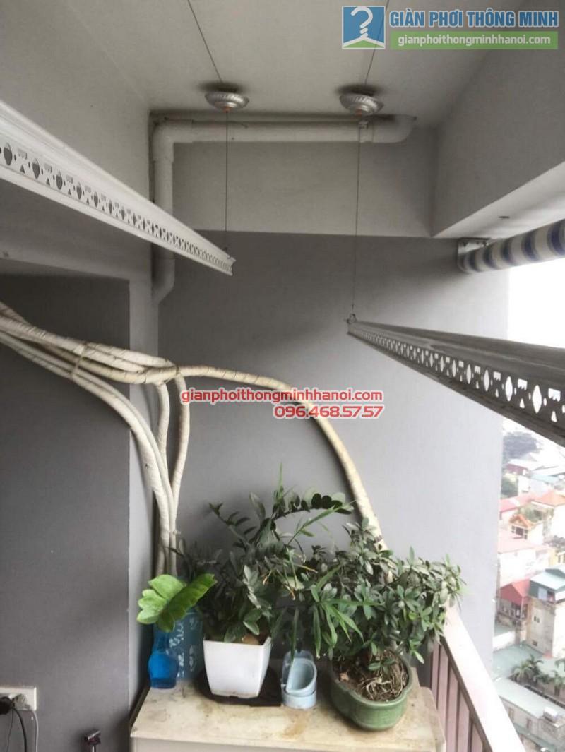 Thay bộ tời giàn phơi nhà anh Đức, CT1 Trung Văn, Nam Từ Liêm, Hà Nội - 01