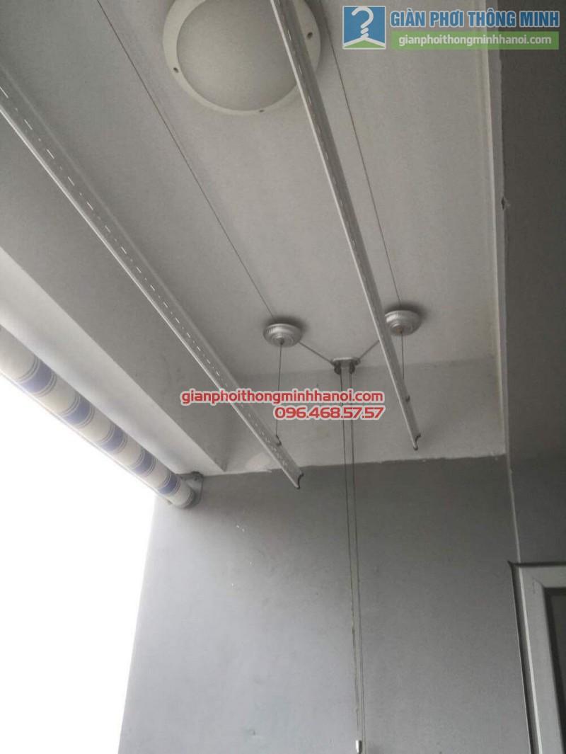 Thay bộ tời giàn phơi nhà anh Đức, CT1 Trung Văn, Nam Từ Liêm, Hà Nội - 09