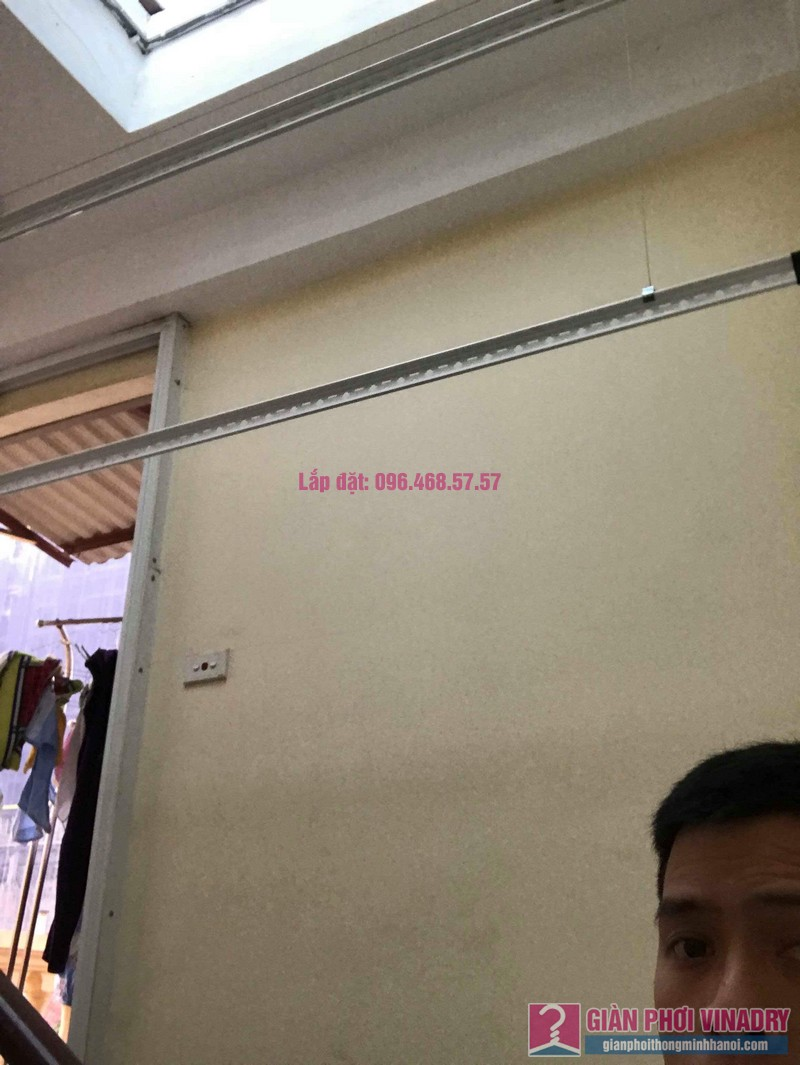 Lăp giàn phơi giá rẻ nhà anh Huy, Thụy Khuê, Tây Hồ, Hà Nội - 02