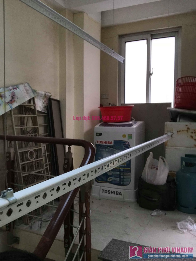 Lăp giàn phơi giá rẻ nhà anh Huy, Thụy Khuê, Tây Hồ, Hà Nội - 06