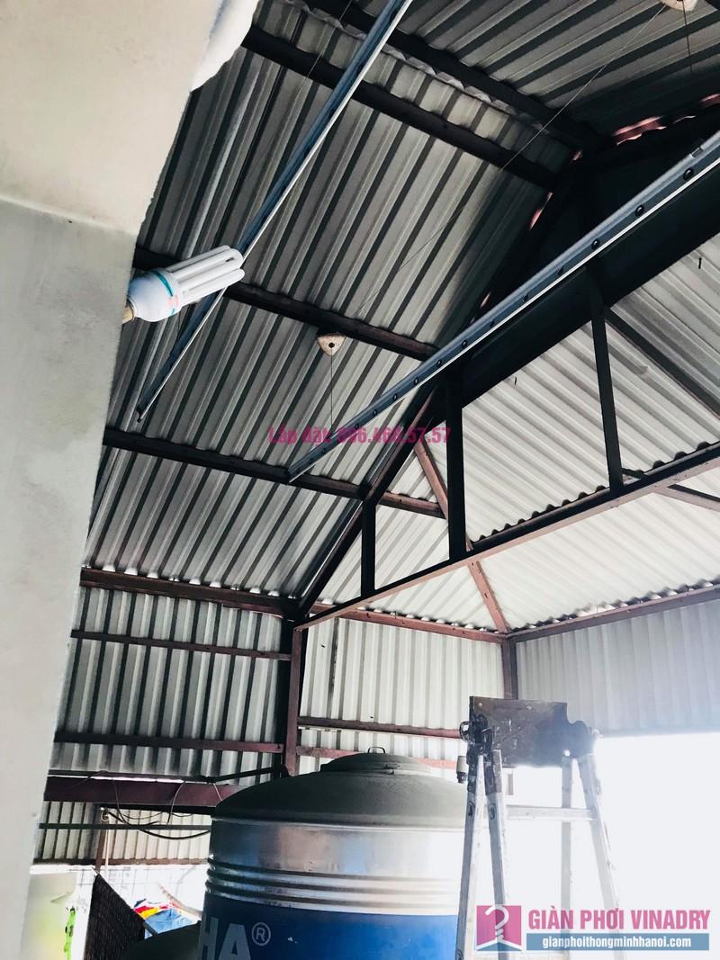 Sửa giàn phơi nhà chị Hoài, 354 Trần Khát Chân, Hai Bà Trưng, Hà Nội - 09