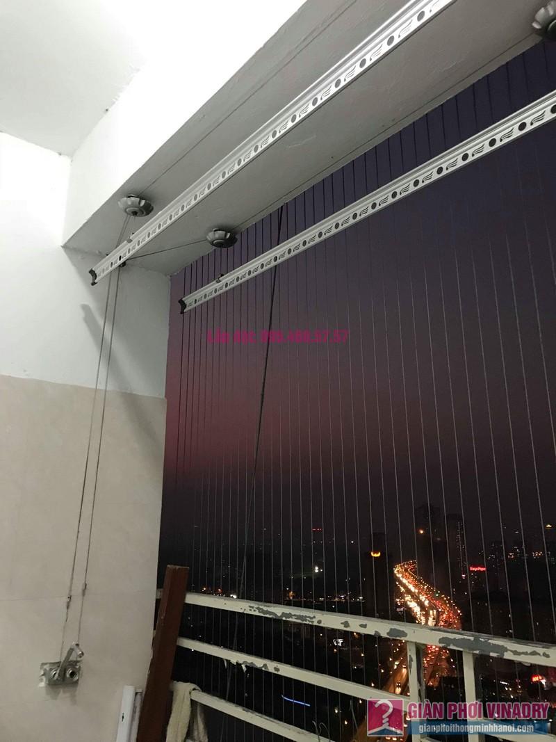 Sửa giàn phơi nhà anh Thắng, chung cư VP6 Linh Đàm, Hoàng Mai, Hà Nội - 01