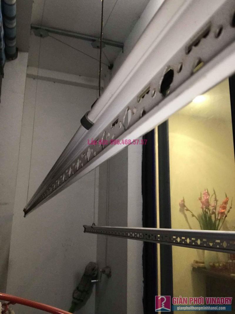 Sửa chữa giàn phơi nhà chị Vui, Tòa T9, Times City - 03