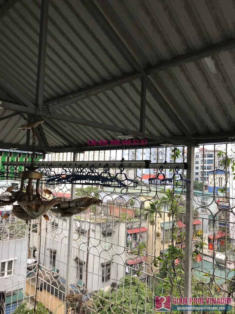 Thay dây cáp giàn phơi thông minh nhà chú Hiệu, 65/56 Nguyễn Lương Bằng, Đống Đa, Hà Nội - 01