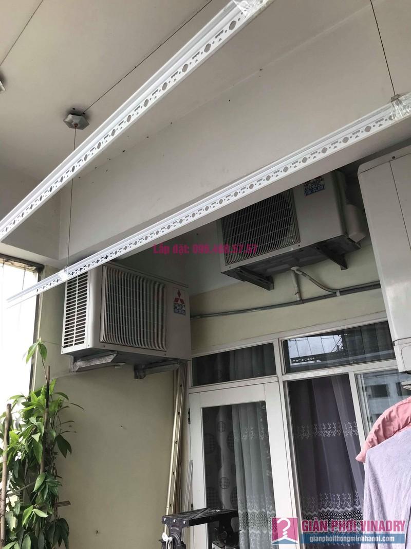 Sửa giàn phơi quần áo nhà anh Tình, chung cư Sunrise D11, 90 Trần Thái Tông, Cầu giấy, Hà Nội - 01