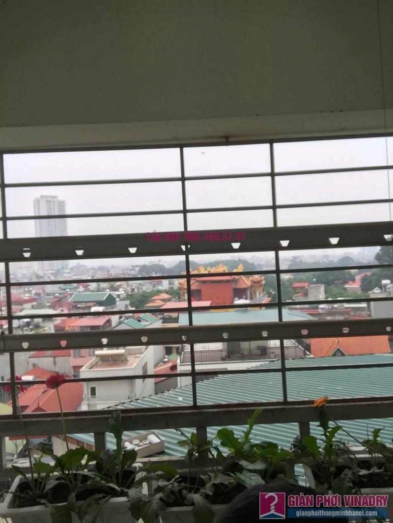 Sửa giàn phơi Hà Đông, nhà chị Dịu, chung cư 197 Trần Phú - 01