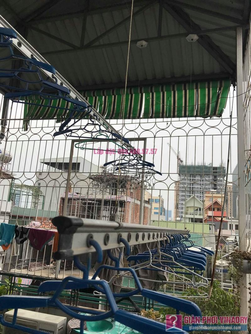Thay dây cáp giàn phơi thông minh nhà chú Hiệu, 65/56 Nguyễn Lương Bằng, Đống Đa, Hà Nội - 03