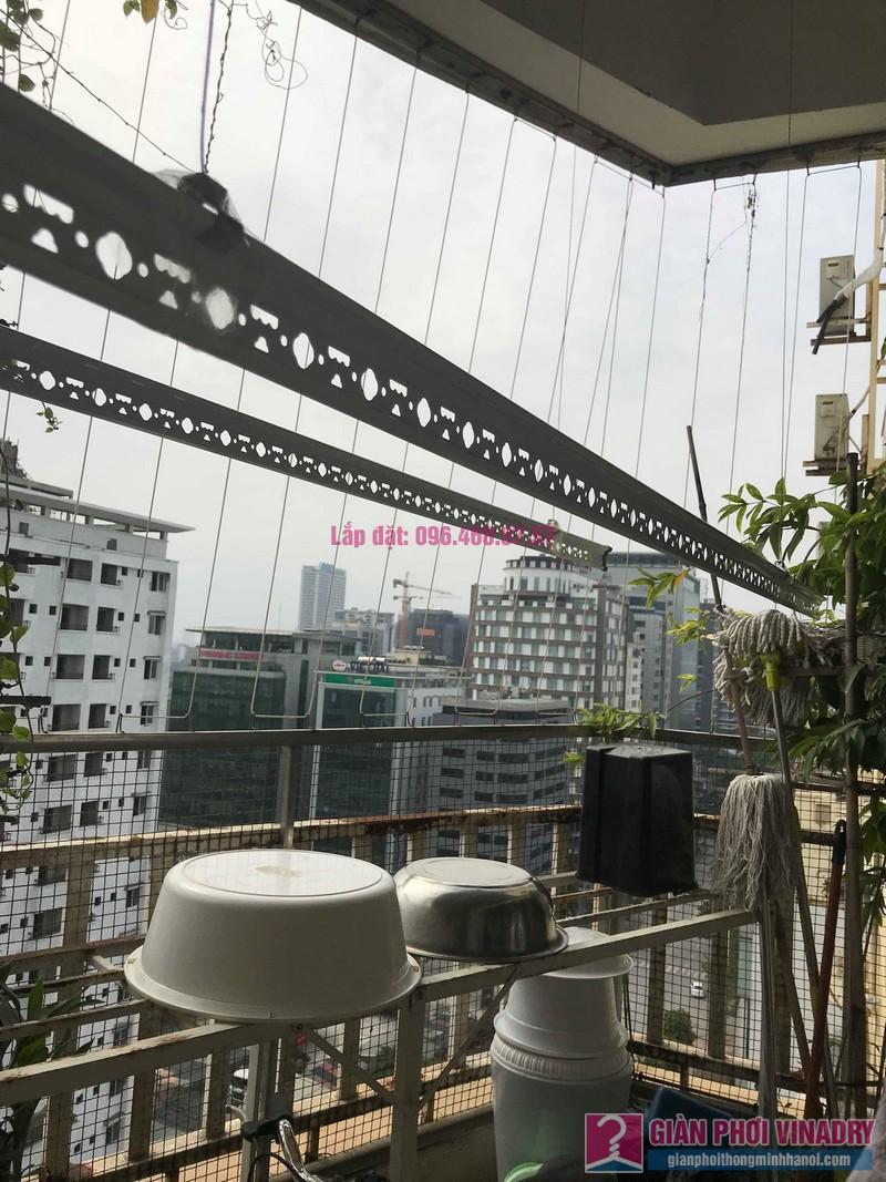 Sửa giàn phơi quần áo nhà anh Tình, chung cư Sunrise D11, 90 Trần Thái Tông, Cầu giấy, Hà Nội - 03