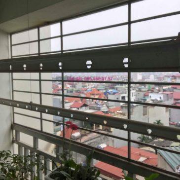 Sửa giàn phơi Hà Đông, nhà chị Dịu, P503a chung cư 197 Trần Phú