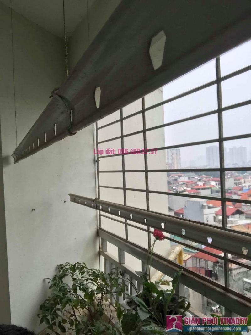 Sửa giàn phơi Hà Đông, nhà chị Dịu, chung cư 197 Trần Phú - 04