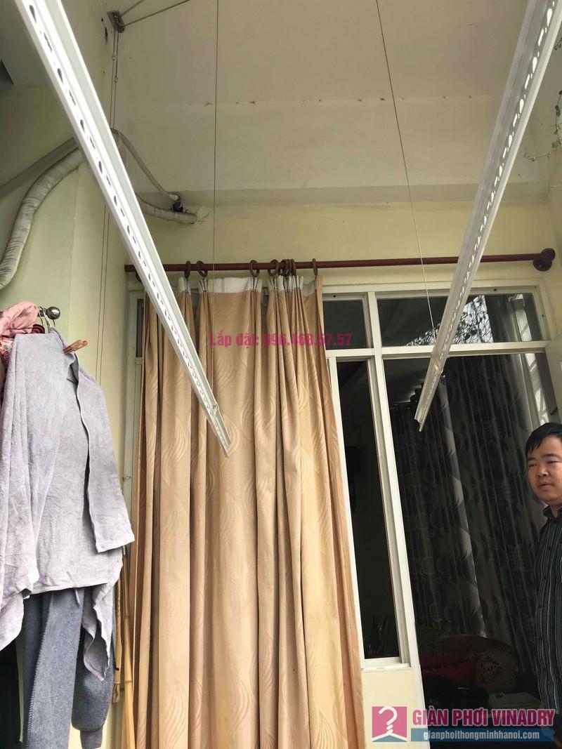Sửa giàn phơi quần áo nhà anh Tình, chung cư Sunrise D11, 90 Trần Thái Tông, Cầu giấy, Hà Nội - 08