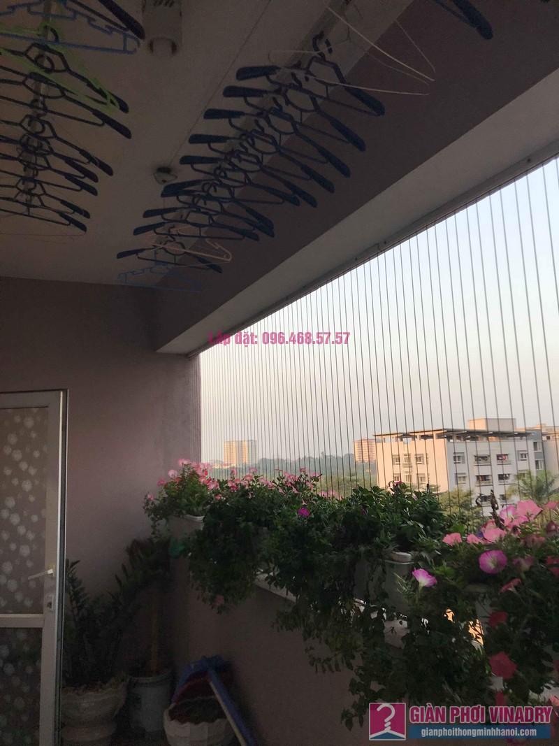 Sửa giàn phơi thông minh nhà anh Thăng, chung cư Green House, Long Biên, Hà Nội - 02