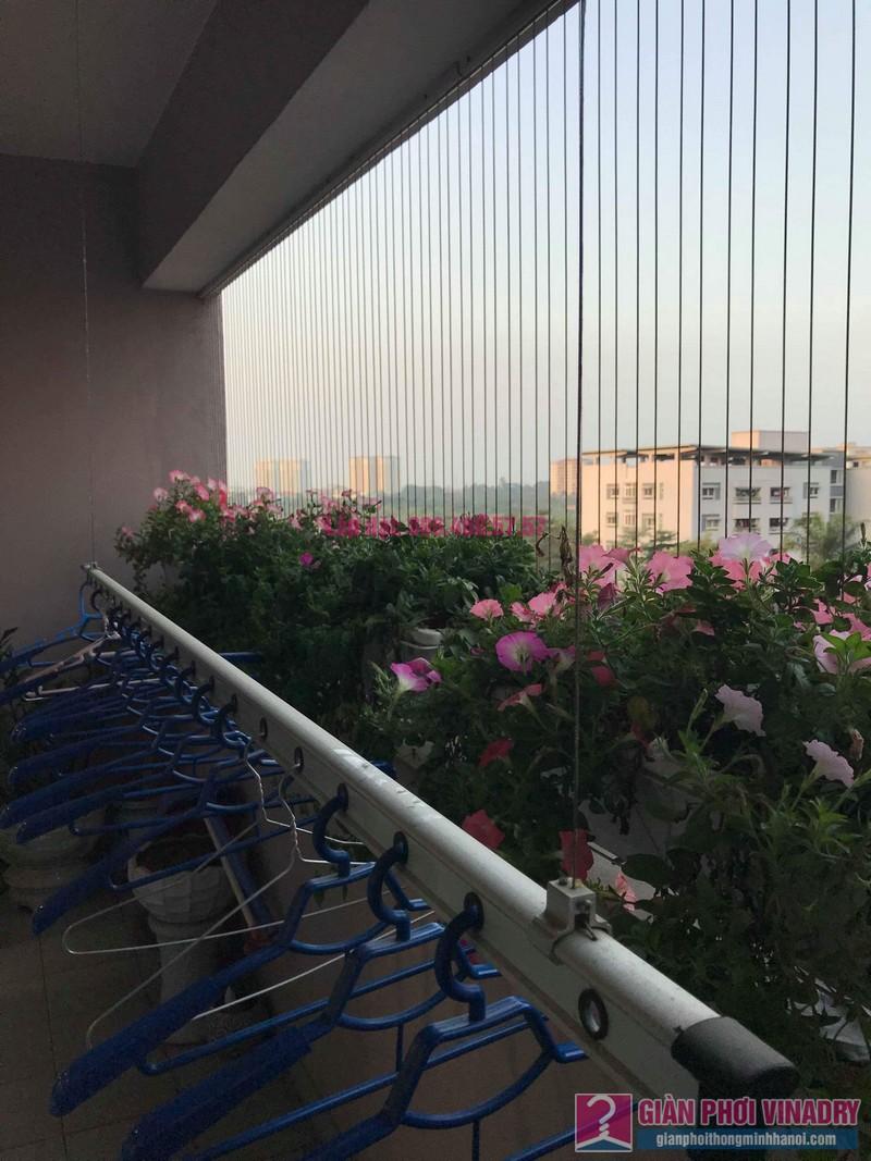 Sửa giàn phơi thông minh nhà anh Thăng, chung cư Green House, Long Biên, Hà Nội - 03