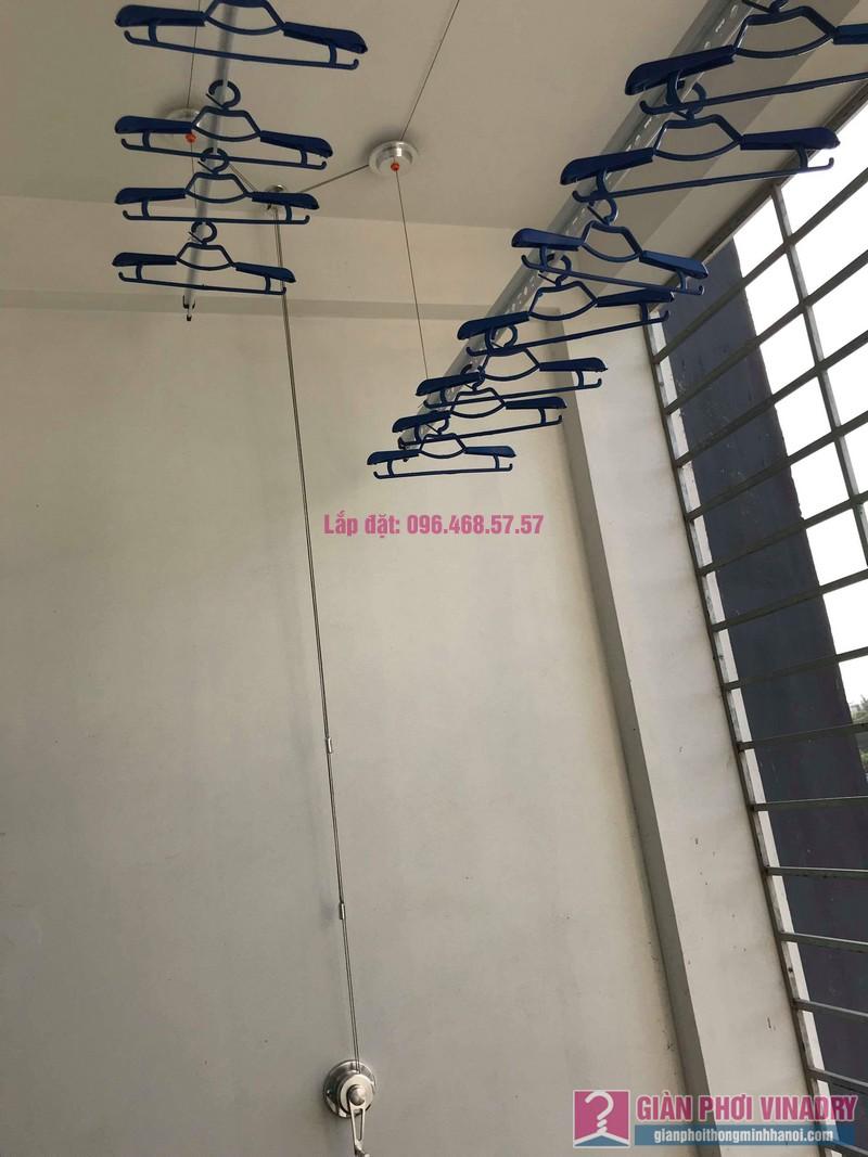 Lắp giàn phơi tại xã Tân Quang, Văn Lâm, Hưng Yên bộ giàn phơi 701 nhà chị My - 03