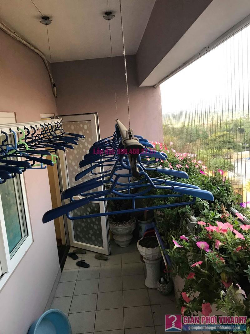 Sửa giàn phơi thông minh nhà anh Thăng, chung cư Green House, Long Biên, Hà Nội - 05