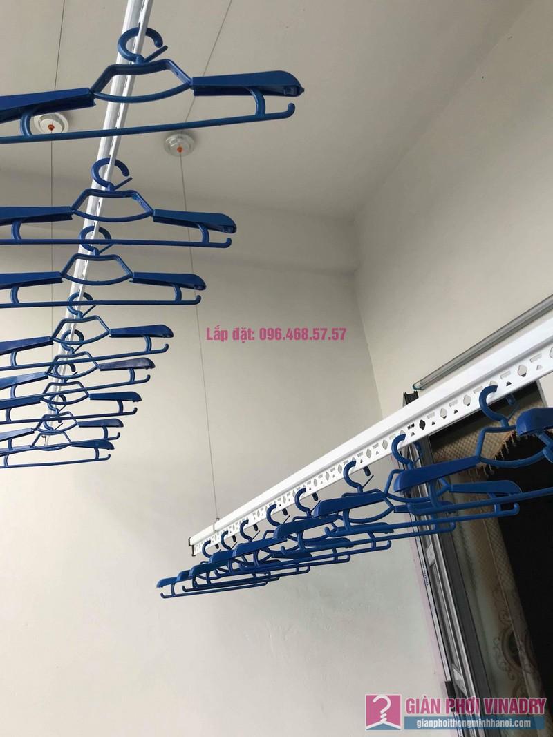 Lắp giàn phơi tại xã Tân Quang, Văn Lâm, Hưng Yên bộ giàn phơi 701 nhà chị My - 05