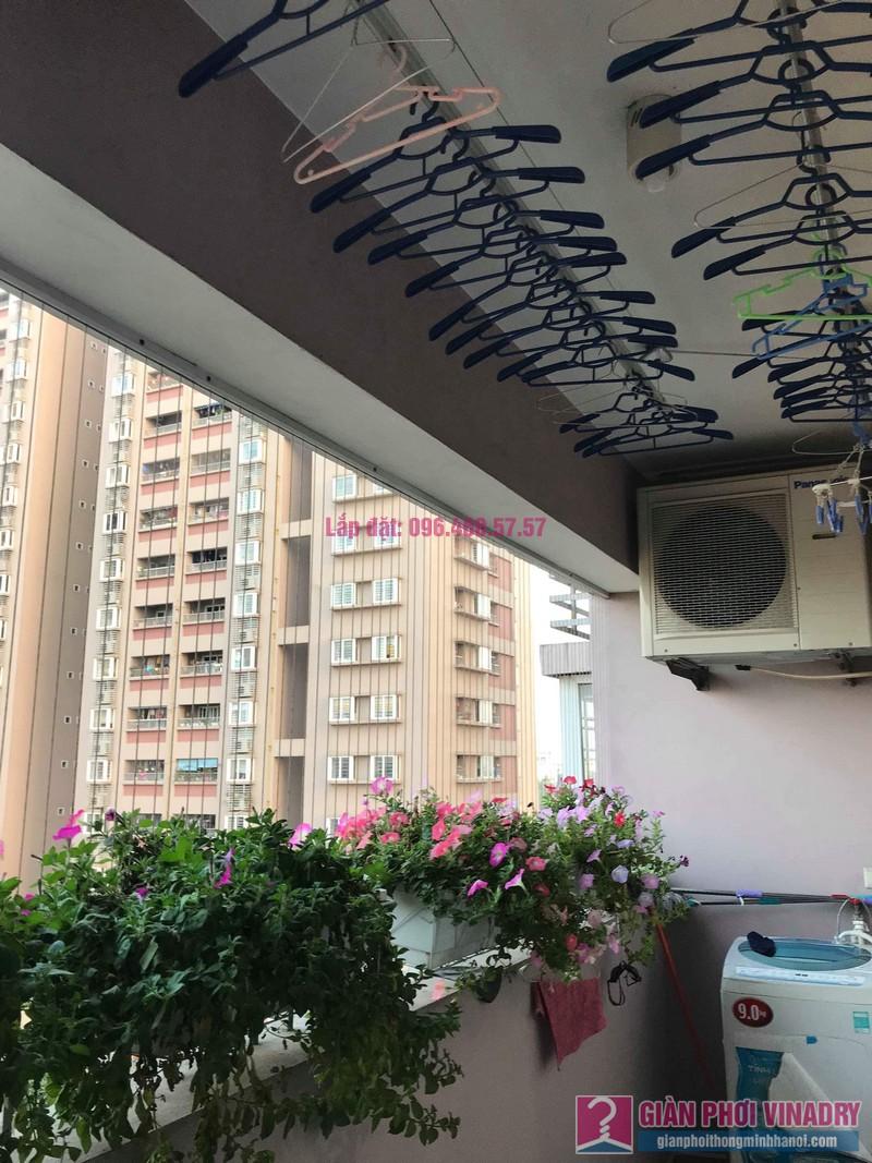 Sửa giàn phơi thông minh nhà anh Thăng, chung cư Green House, Long Biên, Hà Nội - 07