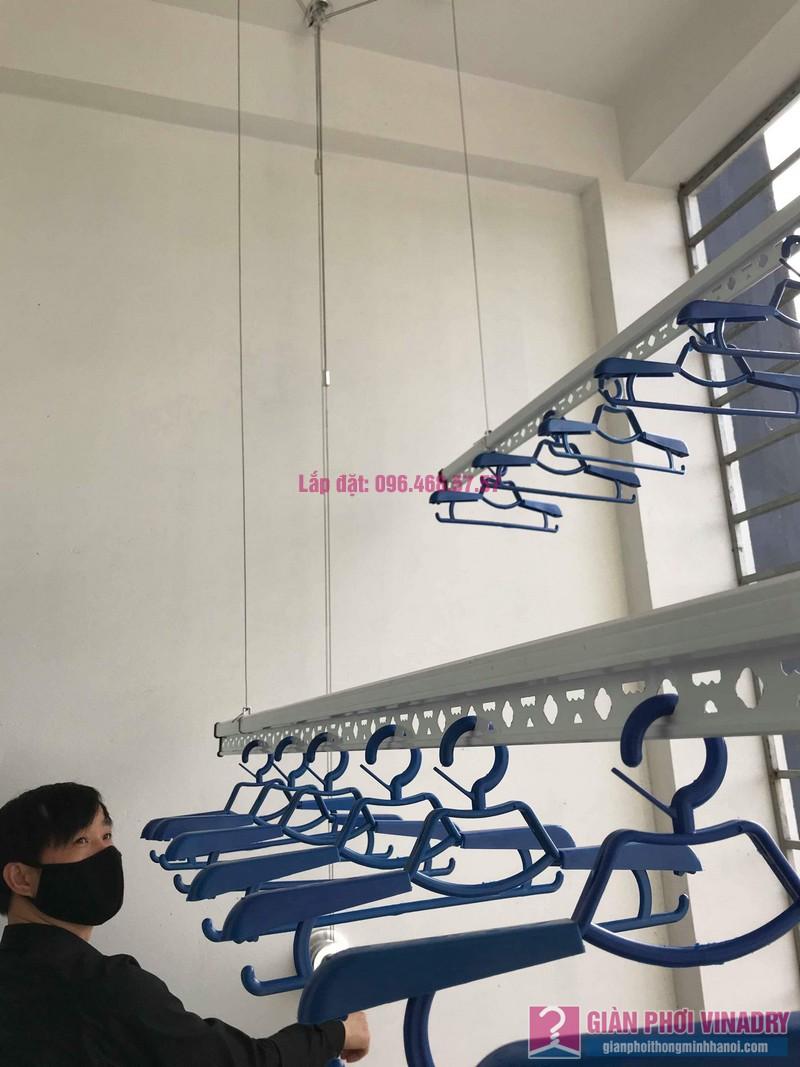 Lắp giàn phơi tại xã Tân Quang, Văn Lâm, Hưng Yên bộ giàn phơi 701 nhà chị My - 08