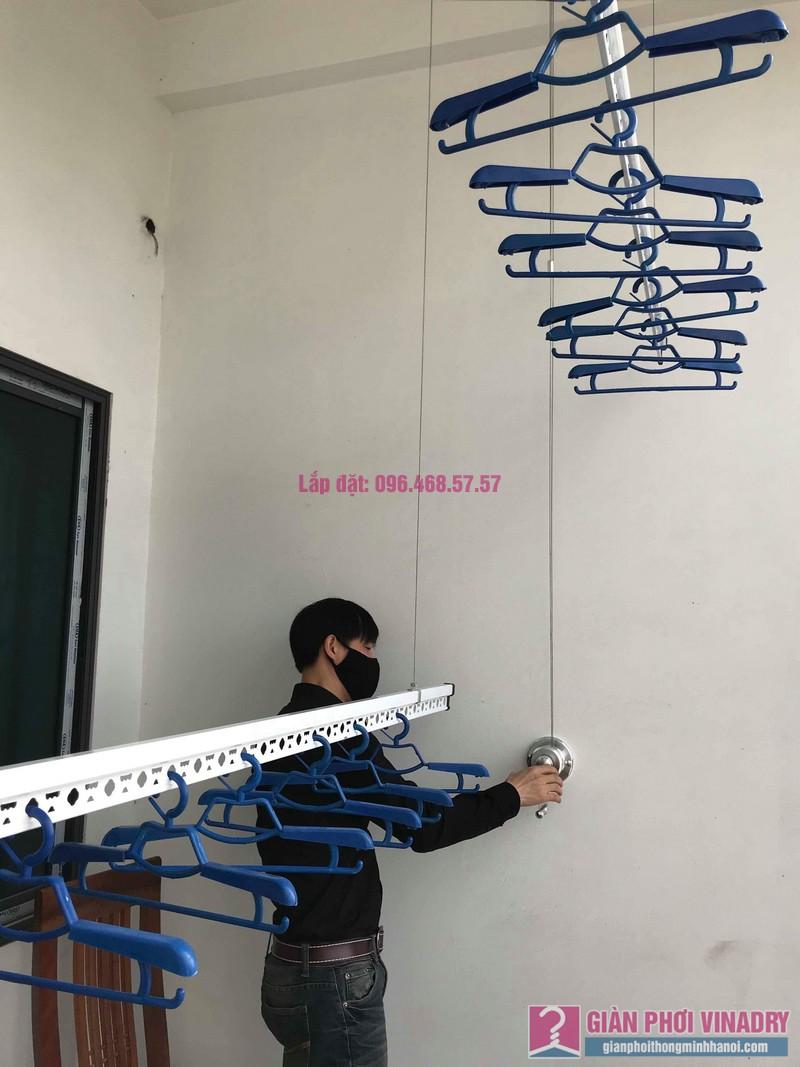 Lắp giàn phơi tại xã Tân Quang, Văn Lâm, Hưng Yên bộ giàn phơi 701 nhà chị My - 09