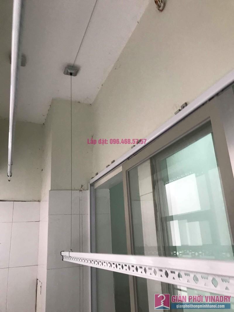 Sửa giàn phơi giá rẻ nhà chị Liên, chung cư N3 Nguyễn Công Trứ, Hai Bà Trưng, Hà Nội - 01