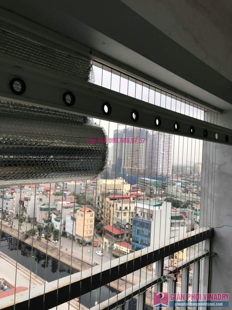 Sửa giàn phơi đồ Duy Lợi nhà cô Mai, chung cư CT36, Dream Home, Hoàng Mai, Hà Nội - 03