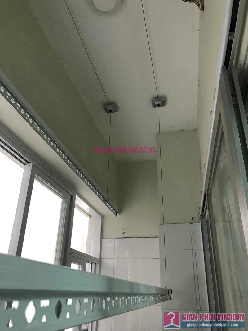 Sửa giàn phơi giá rẻ nhà chị Liên, chung cư N3 Nguyễn Công Trứ, Hai Bà Trưng, Hà Nội - 03