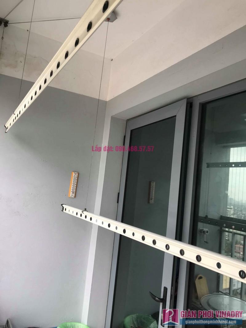 Sửa giàn phơi đồ Duy Lợi nhà cô Mai, chung cư CT36, Dream Home, Hoàng Mai, Hà Nội - 04