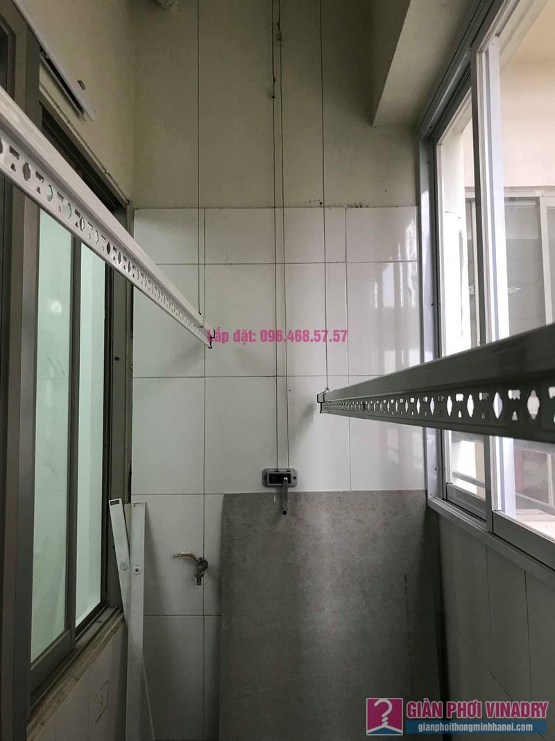 Sửa giàn phơi giá rẻ nhà chị Liên, chung cư N3 Nguyễn Công Trứ, Hai Bà Trưng, Hà Nội - 04