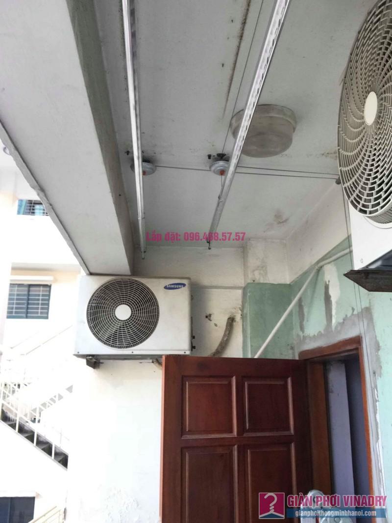 Lắp giàn phơi Hòa Phát 999B nhà chị Nhiên, chung cư CT3 - 1 Mễ trì hạ, Nam Từ Liêm, Hà Nội - 04