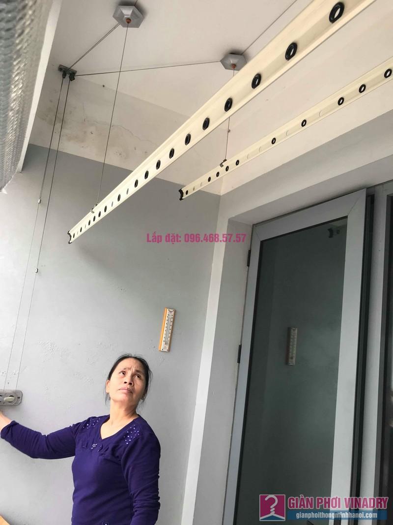 Sửa giàn phơi đồ Duy Lợi nhà cô Mai, chung cư CT36, Dream Home, Hoàng Mai, Hà Nội - 05