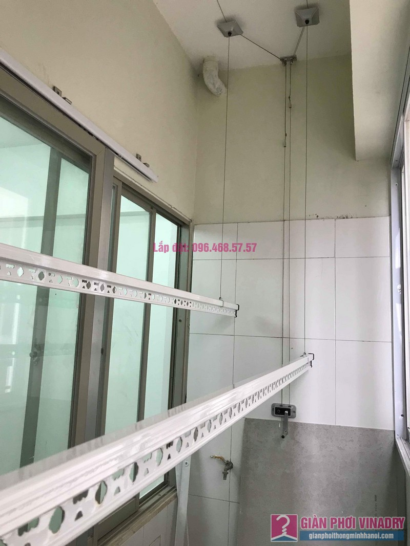 Sửa giàn phơi giá rẻ nhà chị Liên, chung cư N3 Nguyễn Công Trứ, Hai Bà Trưng, Hà Nội - 05