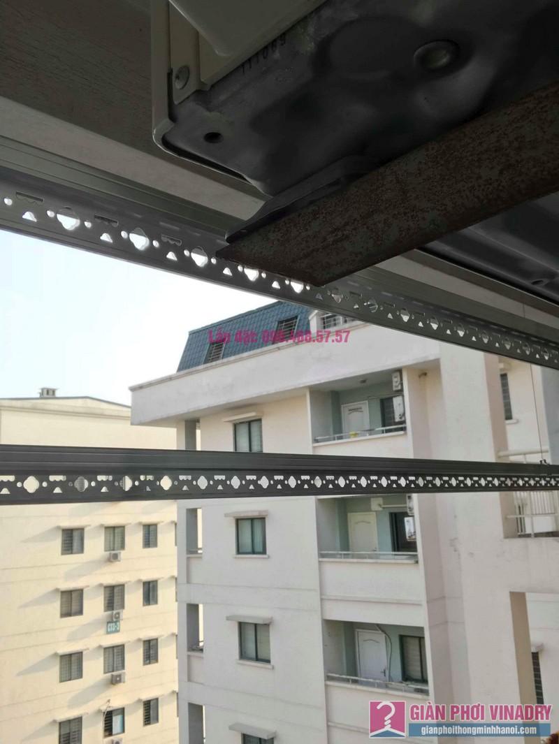Lắp giàn phơi Hòa Phát 999B nhà chị Nhiên, chung cư CT3 - 1 Mễ trì hạ, Nam Từ Liêm, Hà Nội - 05