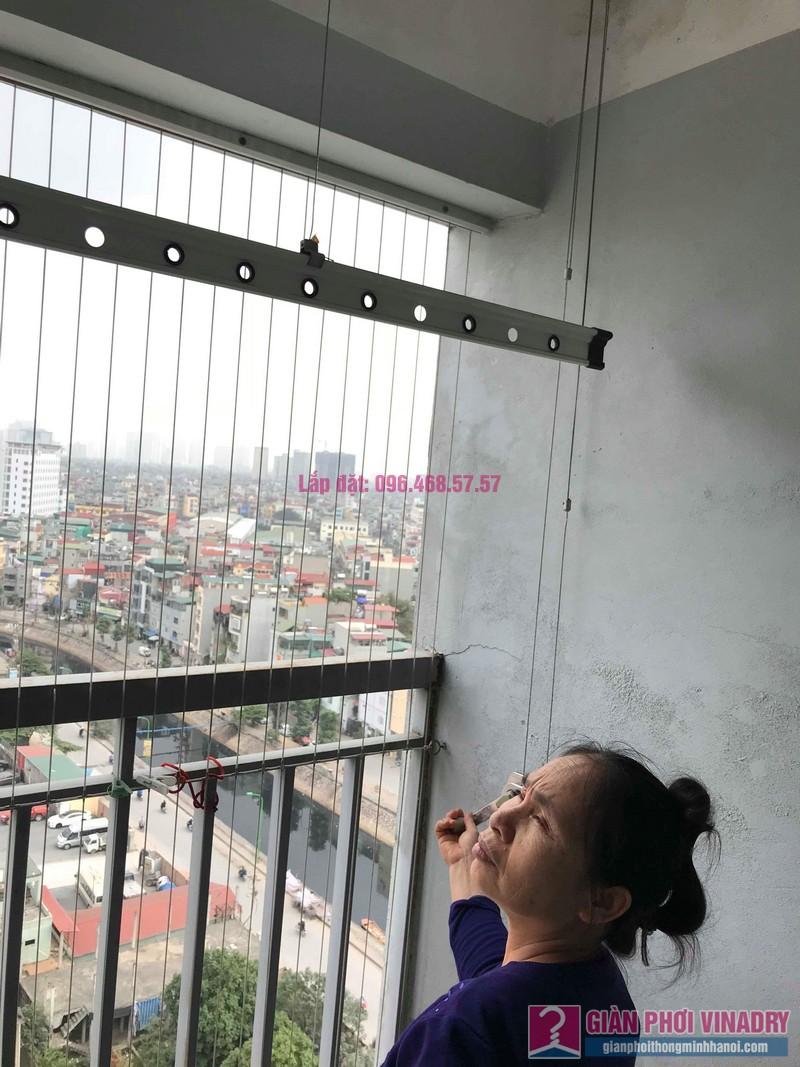 Sửa giàn phơi đồ Duy Lợi nhà cô Mai, chung cư CT36, Dream Home, Hoàng Mai, Hà Nội - 06