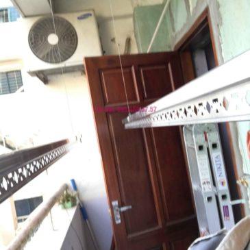 Lắp giàn phơi Hòa Phát 999B nhà chị Nhiên, chung cư CT3 – 1 Mễ trì hạ, Nam Từ Liêm, Hà Nội