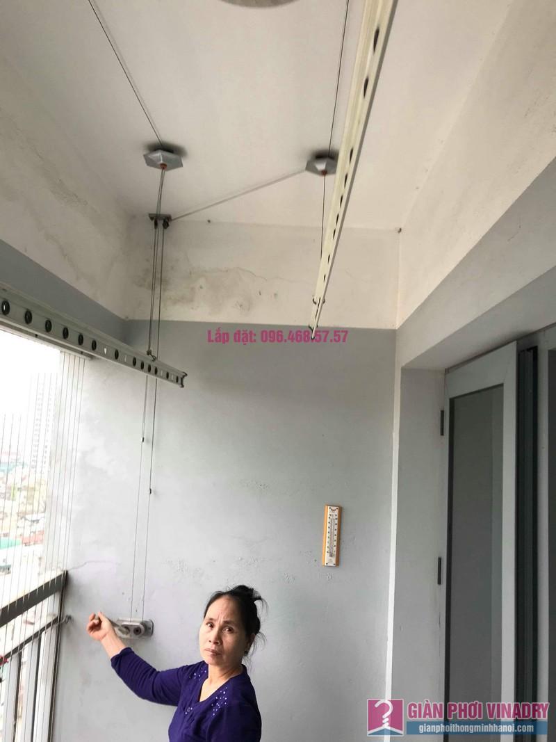 Sửa giàn phơi đồ Duy Lợi nhà cô Mai, chung cư CT36, Dream Home, Hoàng Mai, Hà Nội - 07
