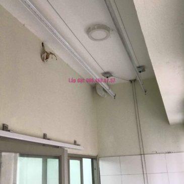 Sửa giàn phơi giá rẻ nhà chị Liên, chung cư N3 Nguyễn Công Trứ, Hai Bà Trưng, Hà Nội