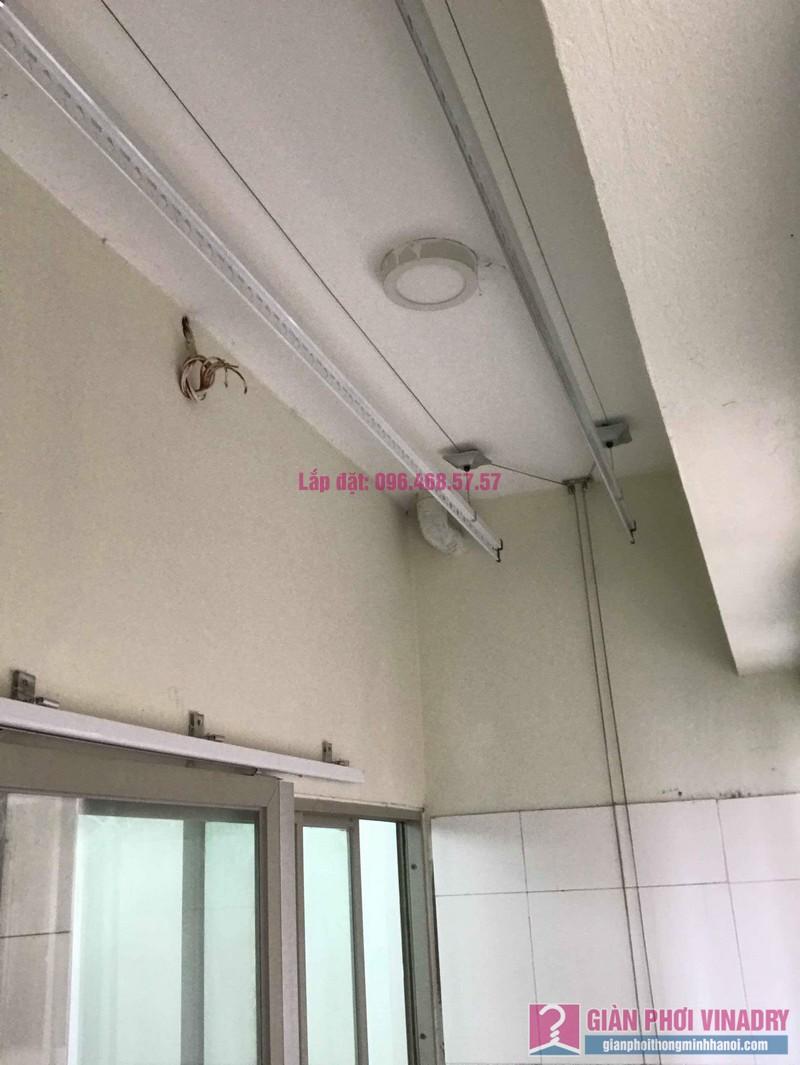 Sửa giàn phơi giá rẻ nhà chị Liên, chung cư N3 Nguyễn Công Trứ, Hai Bà Trưng, Hà Nội - 07