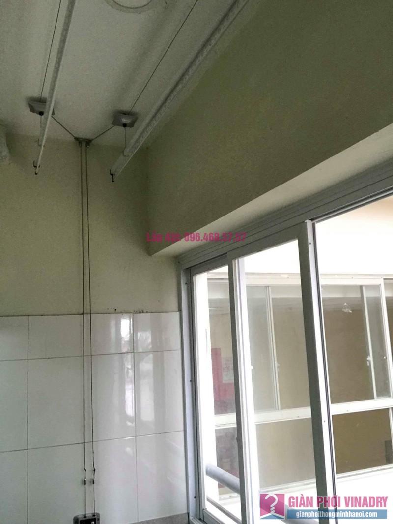 Sửa giàn phơi giá rẻ nhà chị Liên, chung cư N3 Nguyễn Công Trứ, Hai Bà Trưng, Hà Nội - 08