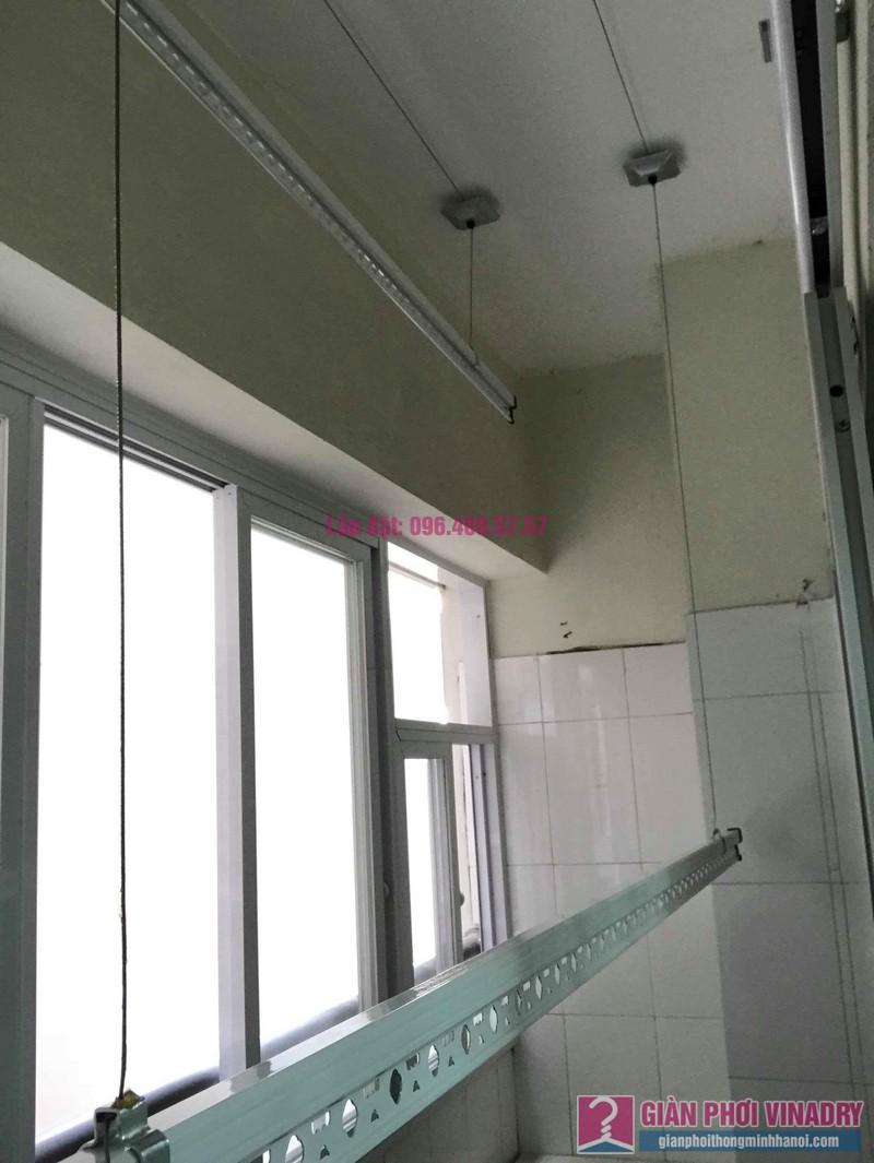 Sửa giàn phơi giá rẻ nhà chị Liên, chung cư N3 Nguyễn Công Trứ, Hai Bà Trưng, Hà Nội - 09