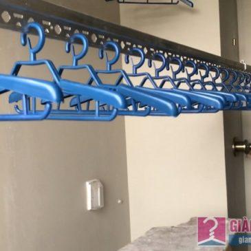 Lắp giàn phơi đồ thông minh nhà chị Thảo, chung cư CT2E VOV Mễ Trì, Nam Từ Liêm, Hà Nội